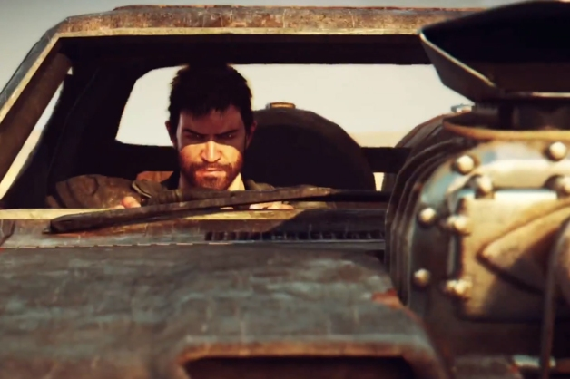It wouldn't be a Mad Max game without the trademark mean eyes, hands on the wheel shot, would it?