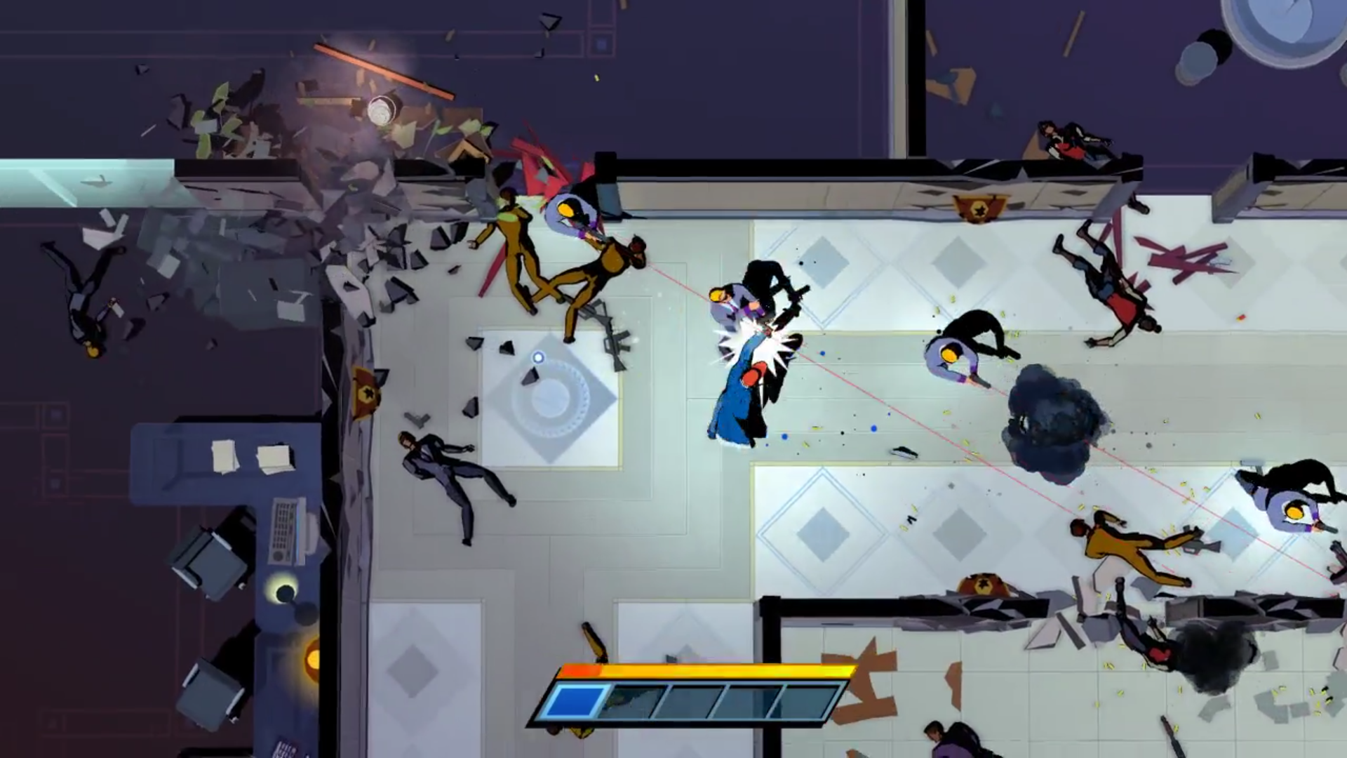 Screenshot avoid bullets