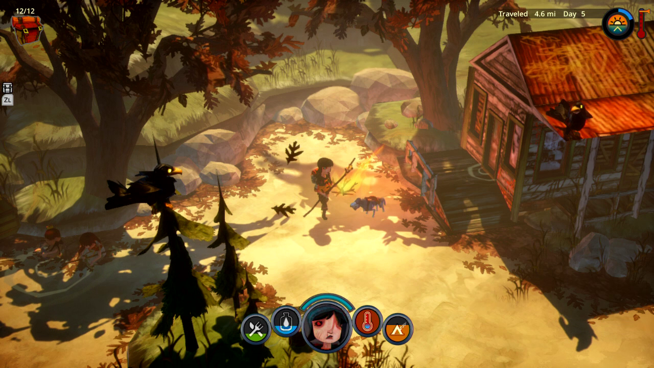 The Flame in the Flood - Switch - Press - 5