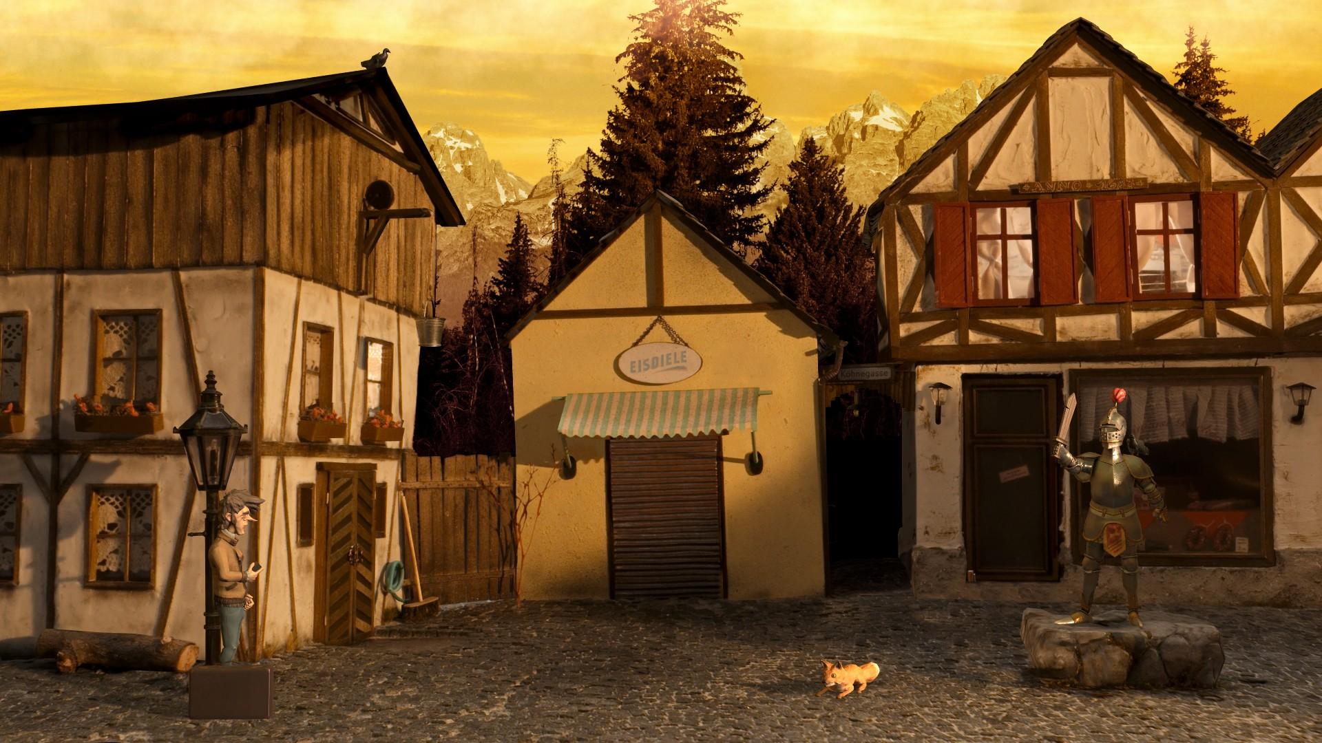 Trüberbrook town