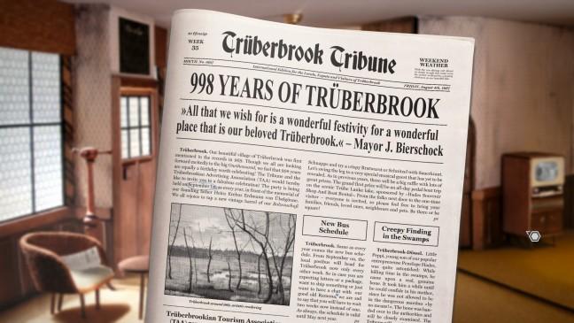 Trüberbrook newspaper