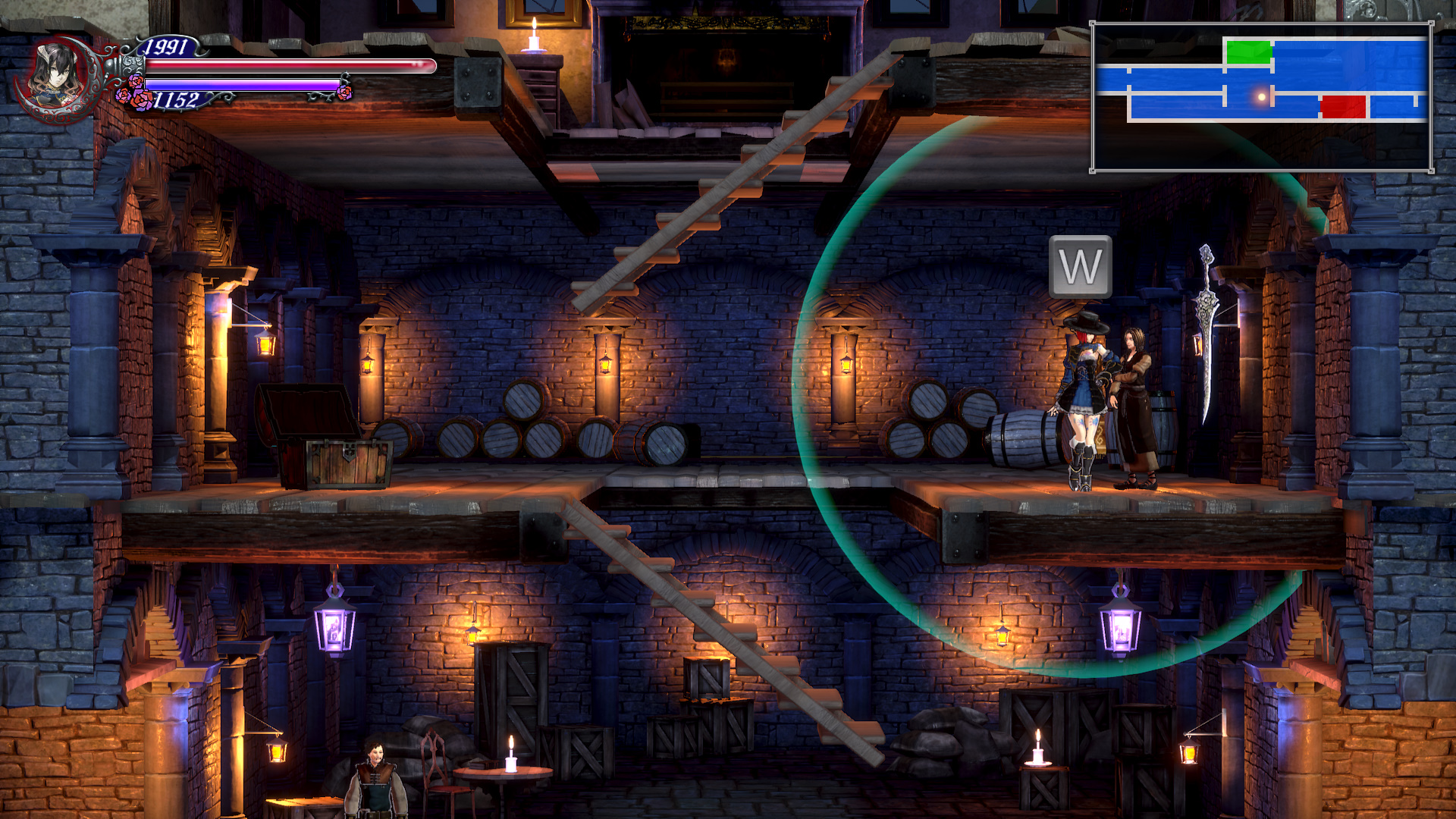 Image-showing-the-Lindsay-NPC-in-Bloodstained-Ritual-of-the-Night